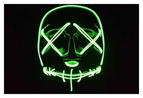 The Purge: Election Year El Wire Mask (Green)