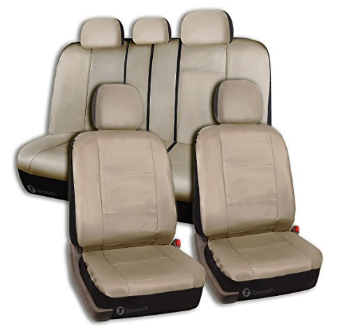 zebra car seat cover pu leather - 9