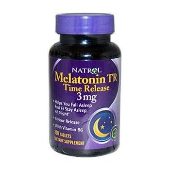 NATROL Melatonin 3mg Time Release 100 TAB