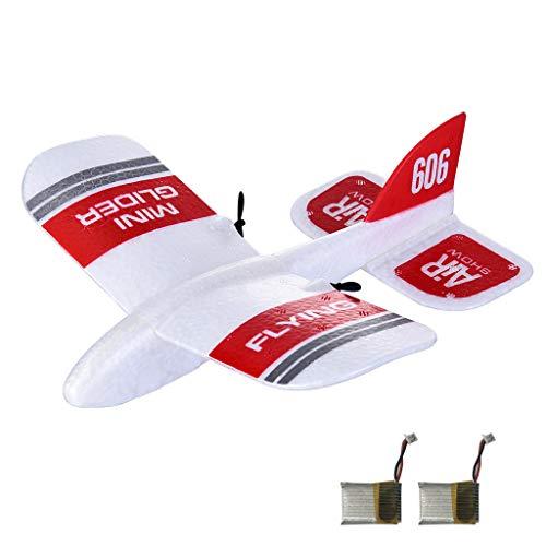 TwoCC-Drone, versión doble Kfplan Kf606 Epp 2.4G 2Ch Mini ala fija ...