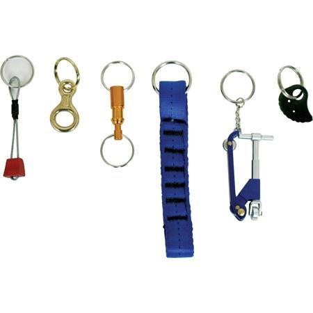 KONG Mini Figure 8 Brass Key Ring Brass Sports Key Ring