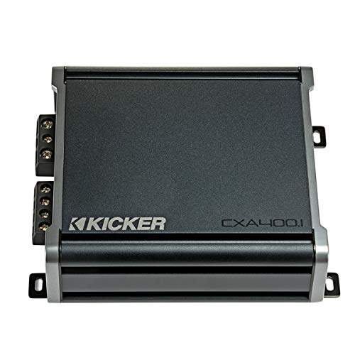 Kicker 46CXA4001 Car Audio Class D Amp Mono 800W Peak Sub Amplifier CXA400.1 ()