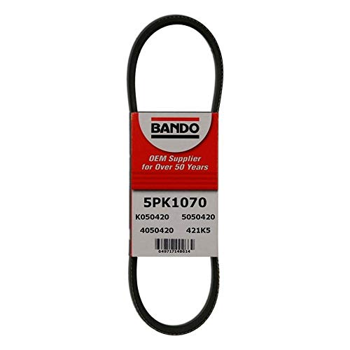 Bando 5PK1070 OEM Quality Serpentine Belt by Bando USA