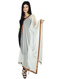 Neck Wrap Stole Yellow Net Chunni Indian Fashion Scarves Woman Dupatta Throw