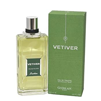 Guerlain Vetiver Eau de Toilette Spray for Men, 6.8 Ounce