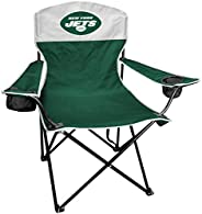 Rawlings NFL XL Lineman Tailgate and Camping Folding Chair, New York Jets