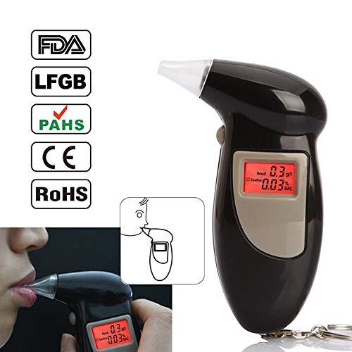 FidgetFidget Digital LCD Display Alcohol Breath Analyzer Tester Breathalyzer Detector