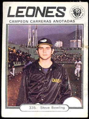 Amazon.com: 1977 Topps Venezuelan (Baseball) card#335 Steve ...