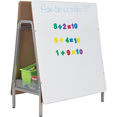 Really Good Two-Sided Magnetic Dry Erase Tabletop Easel