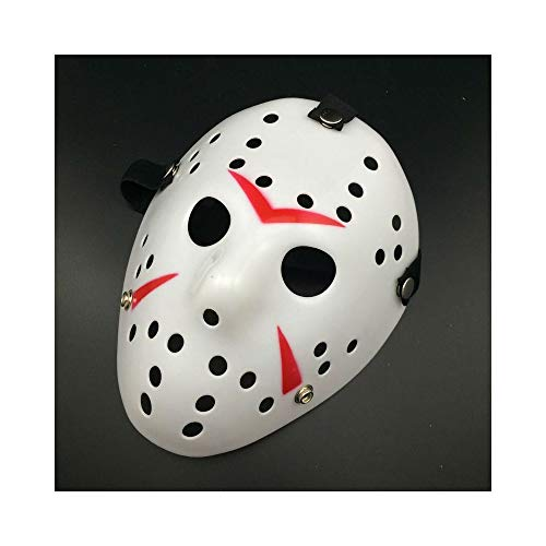 Yal Boutique Jason Voorhees Friday The 13th Horror Movie Hockey Mask Scary Halloween USA -