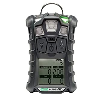 MSA Multi-Gas Detector, 4 Gas, -4 to 122F, LCD: Combination Explosive Gas Carbon Monoxide Detectors: Amazon.com: Industrial & Scientific