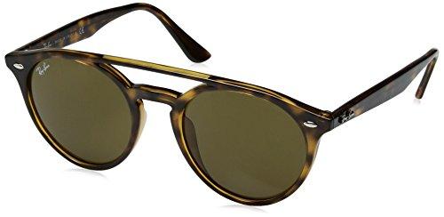 Ray-Ban Injected Unisex Round Sunglasses, Shiny Havana, 51 - Rx Male Amazon Ultra