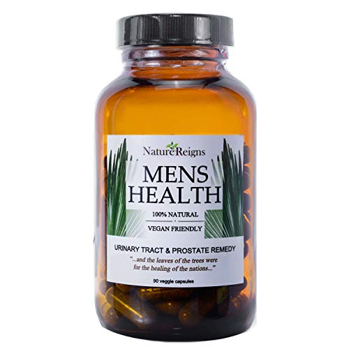 Saw Palmetto Prostate Supplement for Men- with Stinging Nettle, Ashwagandha, Pumpkin Seed Extract – for Urinary, Prostate, and Reproductive Health – 90 Caps For Sale