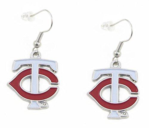 Minnesota Twins - MLB Team Logo Dangler Earrings