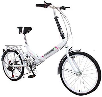 Paseo Bicicleta Plegable Bicicleta de Carretera Bicicleta Mini Bicicleta de montaña Bicicleta de Velocidad Variable Bicicleta 20