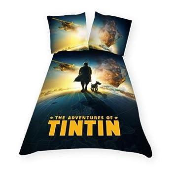 Housse De Couette Tintin 1 Taie Amazonfr Cuisine Maison