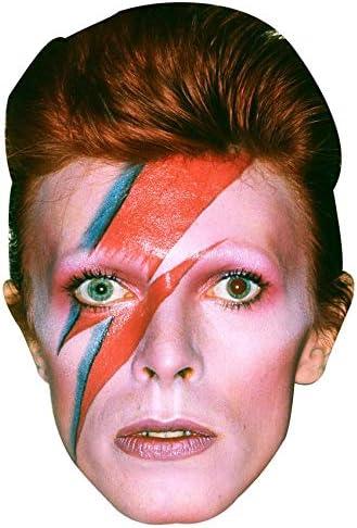 BMPrintShop Ltd David Bowie - Máscara facial para fiesta de ...
