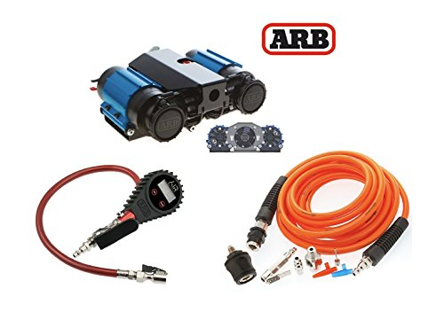 arb  volt twin air compressor tire inflation kit digital tire inflator high performance