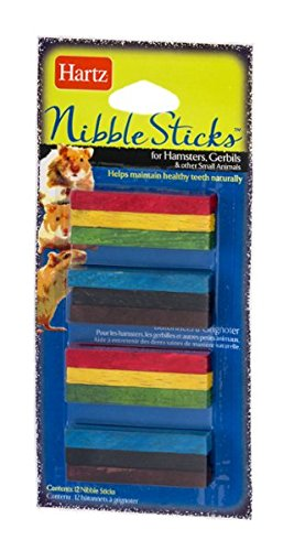 Hartz Nibble Sticks for Hamsters, Gerbils & Other Small Animals - 12 CT