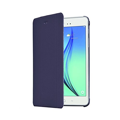 Super Slim Cover for Samsung Galaxy Tab A 8-Inch Tablet SM-T350 (Black) - 6