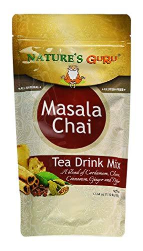 Natures Guru Instant Chai Masala Chai Sweetened, 1.1 lbs Bag