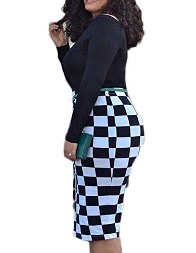 Leezeshaw - Vestido - para mujer Black526