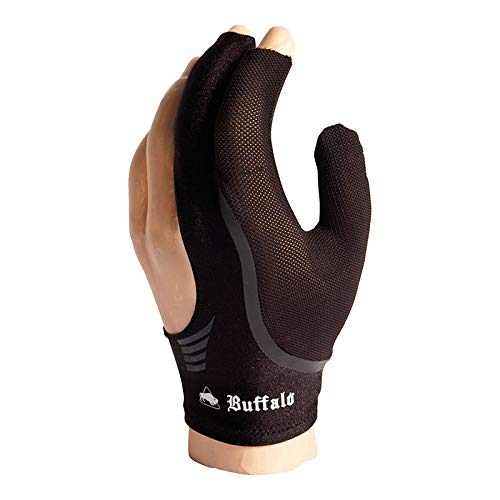 Manuel Gil Guante Billar Buffalo Reversible Globe Black m