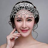 FLOW ZIG Romantic Rhinestones Wedding/Party Headpieces/Forehead Jewelry