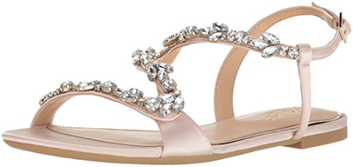 Badgley Mischka Jewel Women's Gamble Flat Sandal