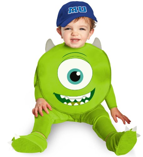 Disguise Costumes Disney Pixar Monsters University Mike Classic Infant, Green/White/Blue, 12-18 Months