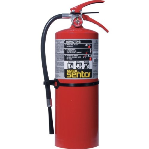 Ansul Sentry 10 lb ABC Fire Extinguisher w Wall Hook