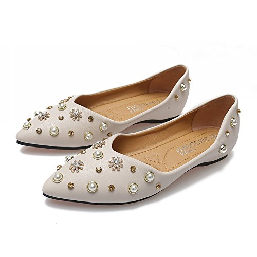 En Zapatos Sugerencia Mujer Zapatos Zapatos Soja Granos De De Los Embarazadas Beige La De Primavera Solo De Luz Zapatos Plano GAOLIM Fondo Mujeres Primavera Femeninos De 6ISRdwBqBx