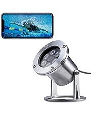 Barlus Underwater Camera 304 Stainless Steel IP68 1440P 4MP POE IP Camera 5 Meters Length Special Line Lens 3.6MM
