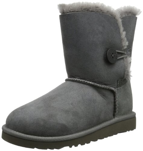 Ugg Australia Bailey Button Girls' Boots, gris (Grigio (grey)), 5 UK by UGG