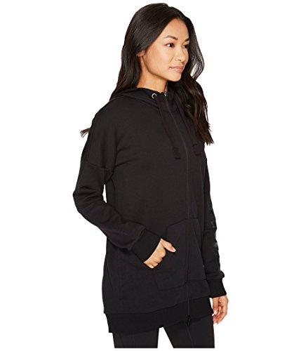 PUMA Women's Fusion Elongated Full Zip Hoodie Cotton Black/Glitter X-Large by PUMA (Image #4)