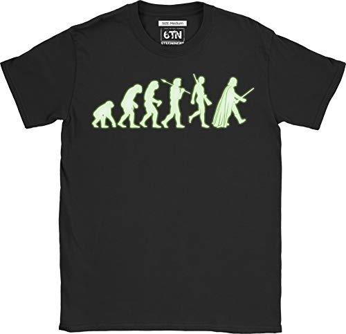 Noir Brille Dans 6tn Shirt Homme Le T À Vader Evolution qfxBIwC5B