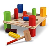 WALIKI TOYS Wood Pounding Bench (Deluxe Edition, Wooden...
