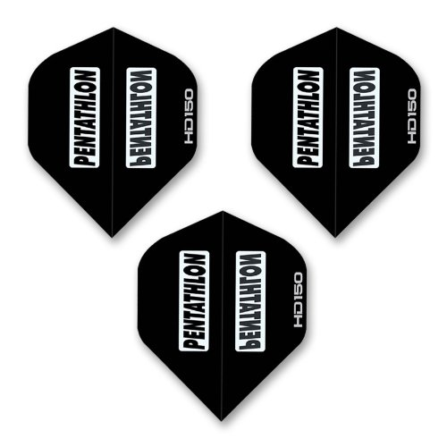 (Dart World Pentathlon HD 150 Standard Shape Dart Flights,)