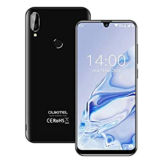 OUKITEL C16 Unlocked 3G&GSM Phone, International Unlocked Smartphone Android Cell Phones with Dual Camera 2600mAh Battery 16GB + 2GB RAM Fingerprint Face ID Unlock Android 9.0(Black)