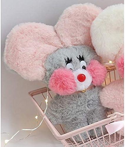 qwermz Soft Korea Ins Cafe Mimi Mouse Muñeca de Peluche