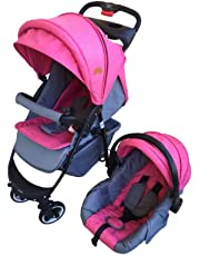 Infinity Travel System Set with Car Seat (Pink)