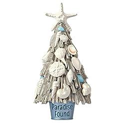 Beach Themed Christmas Ornaments Hallmark Keepsake Christmas Ornament 2020, Paradise Found Beach Driftwood Tree beach themed christmas ornaments