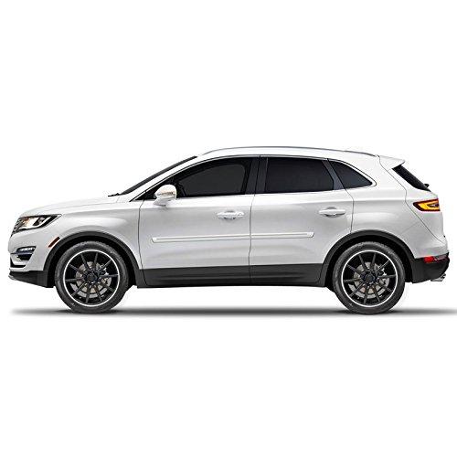 CF2-EDGE-MKX Chromeline Body Side Molding for Ford Edge, Lincoln MKC, MKX - PLATINUM PEARL (UG) ()