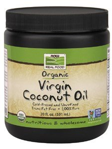 NOW Foods Organic Virgin Coconut Oil, 20 oz (Coconut Oil First Pressed compare prices)