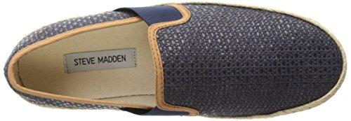 Fashion Steve Madden Navy Sneaker Kahale Steve Fabric Mens Madden fnqSSx