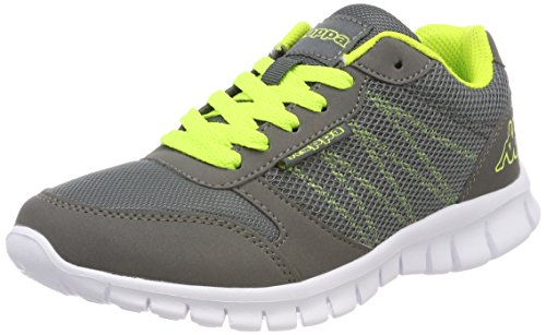 Adulto Stay Grau Kappa Unisex Zapatillas Grey 1633 Lime PT8qxtg