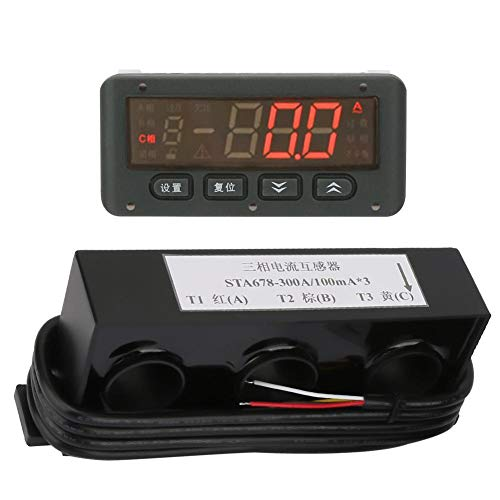 Intelligent Motor Protection, Split Type Digital Motor Protection Monitor Open-phase Phase Loss Protection Overload Protector, 220V/380VAC 50/60hz ()
