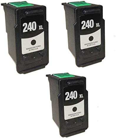 PG-240XL 3//PK-300 Page Yield 5207B001/_3PK SuppliesMAX Compatible Replacement for Canon PIXMA MG-2120//3140//3620//MX-372//432//522//532 Black Inkjet