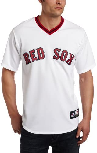 Majestic Ted Williams Boston Red Sox White Cooperstown Replica Jersey