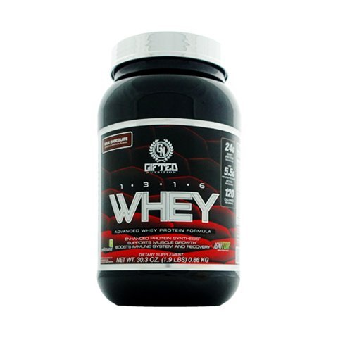 Gifted Nutrition 1316 Whey Protein (1.9lb, Milk - 861 Chocolate